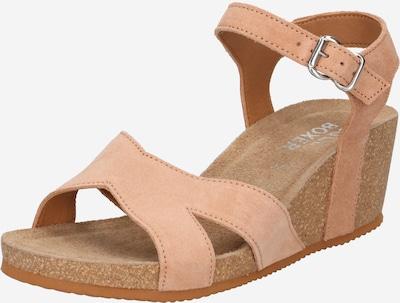 BULLBOXER Sandal i mörkbeige, Produktvy
