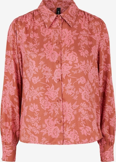 Y.A.S Bluse in pink / rot, Produktansicht