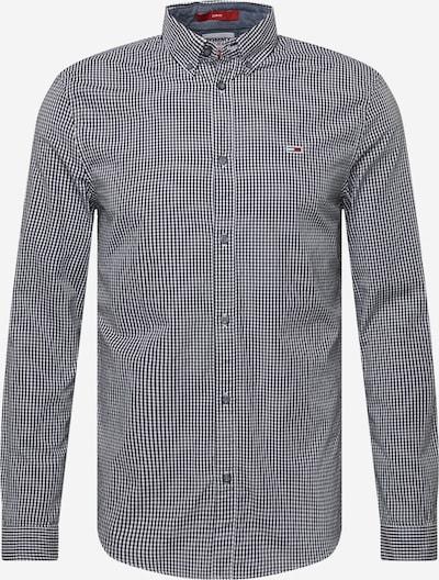 Tommy Jeans Hemd 'GINGHAM' in navy / rot / schwarz / weiß, Produktansicht