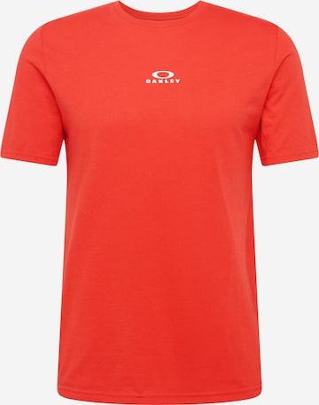 Tricou funcțional 'BARK' de la OAKLEY pe roșu