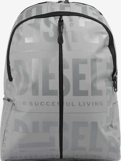 DIESEL Sac à dos 'X-BOLD' en gris / gris argenté / noir, Vue avec produit