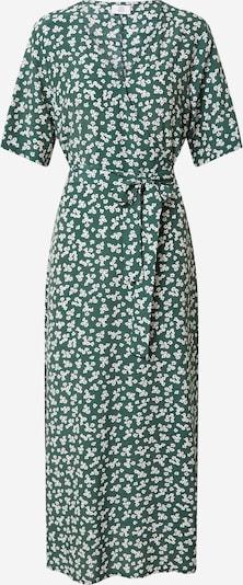 Kauf Dich Glücklich Vestido de verano en esmeralda / blanco, Vista del producto