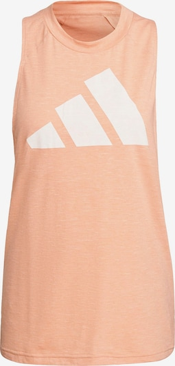 ADIDAS PERFORMANCE Sports Top in Dusky pink / White, Item view
