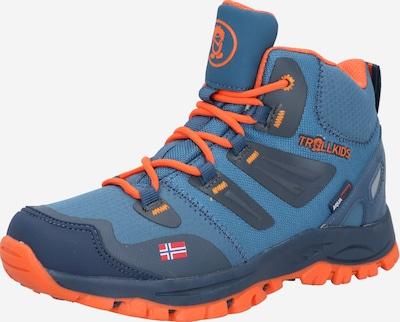 TROLLKIDS Schuh 'Rondane' in blau / orange, Produktansicht