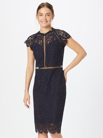 Kokteilinė suknelė iš APART, spalva – nakties mėlyna, Modelio vaizdas