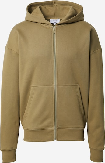 DAN FOX APPAREL Sweatshirt 'Bent' i khaki, Produktvy