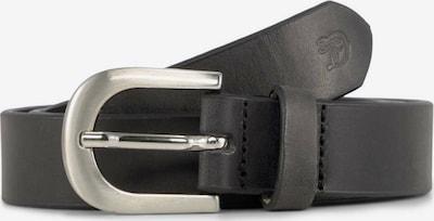 TOM TAILOR DENIM Gürtel 'Daria' in schwarz, Produktansicht