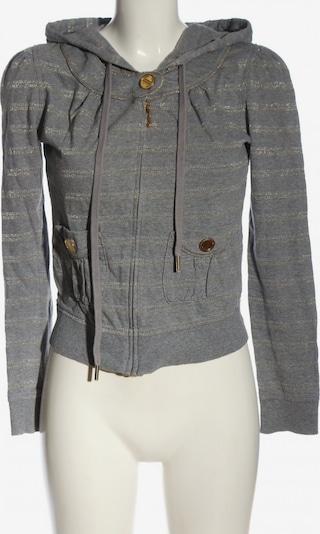 Juicy Couture Sweatjacke in S in gold / hellgrau, Produktansicht