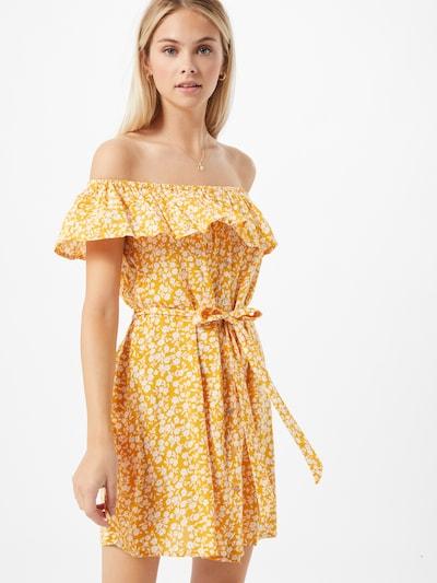 ABOUT YOU Kleid 'Suzi' in gelb / mischfarben, Modelansicht