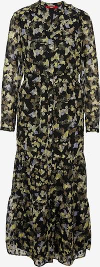 s.Oliver Kleid in rauchblau / braun / oliv / schwarz, Produktansicht