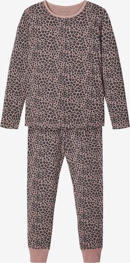 NAME IT Nachtkledij in de kleur Oudroze / Zwart, Productweergave