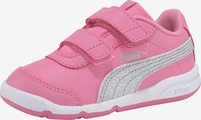 PUMA Brīvā laika apavi tumši rozā / Sudrabs / balts, Preces skats