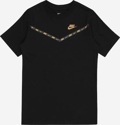 Nike Sportswear Tričko - zlatá / černá, Produkt