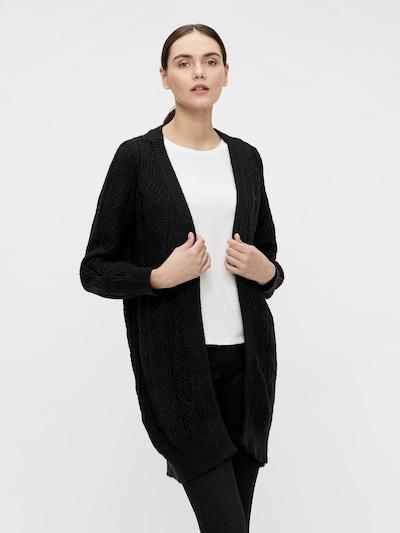 OBJECT Knit Cardigan 'Nova Stella' in Black, View model