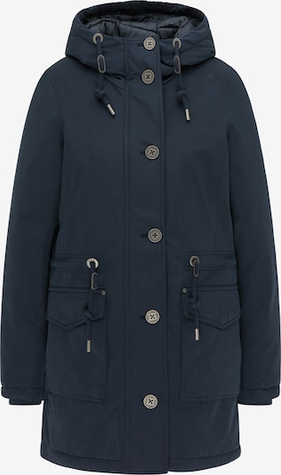 Usha Winterparka in de kleur Nachtblauw, Productweergave