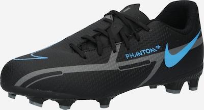 NIKE Fußballschuh  'Jr. Phantom GT2 Academy' in himmelblau / grau / schwarz, Produktansicht