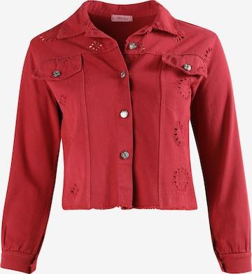 Paprika Between-Season Jacket in Pink