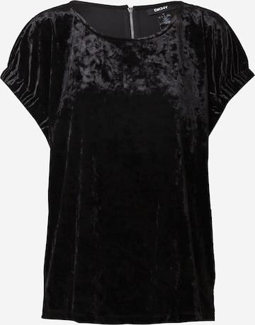 melns DKNY T-Krekls