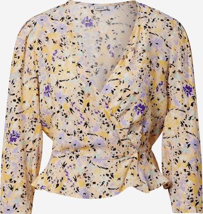 Pimkie Bluse 'Agatha' in beige / orange / magenta, Produktansicht