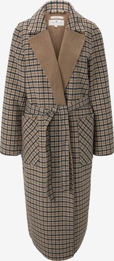 TOM TAILOR Between-Seasons Coat in Beige / Brown / Black, Item view