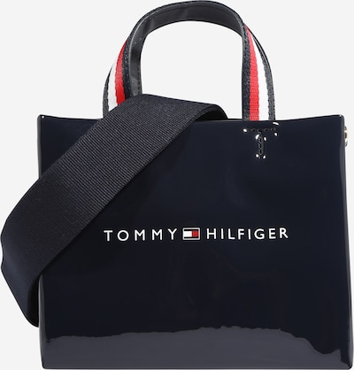 TOMMY HILFIGER Shopper i mørkeblå / hvid, Produktvisning
