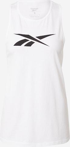 Reebok Sport Sports Top in White
