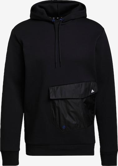 ADIDAS PERFORMANCE Αθλητική μπλούζα φούτερ σε μαύρο / λευκό, Άποψη προϊόντος