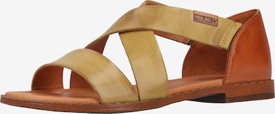 PIKOLINOS Sandale in rostbraun / senf, Produktansicht