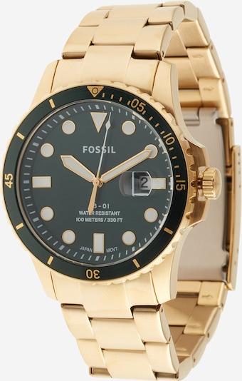 FOSSIL Uhr in gold / smaragd, Produktansicht