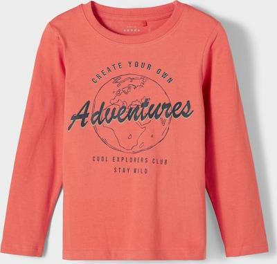 NAME IT Shirt 'Vux' in nachtblau / melone, Produktansicht