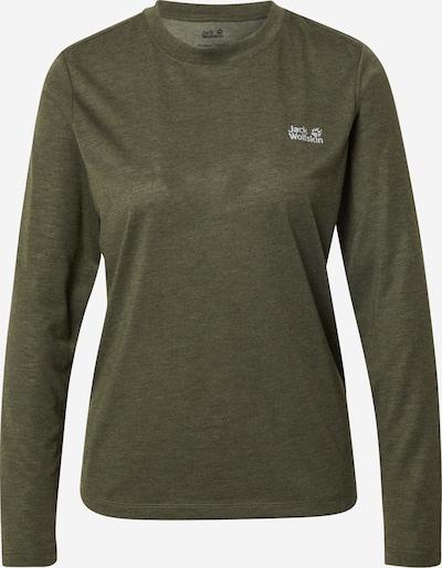 JACK WOLFSKIN Shirt in dunkelgrün, Produktansicht
