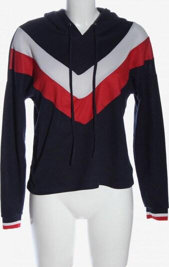 ONLY Sweatshirt & Zip-Up Hoodie in S in Blue / Red / White, Item view