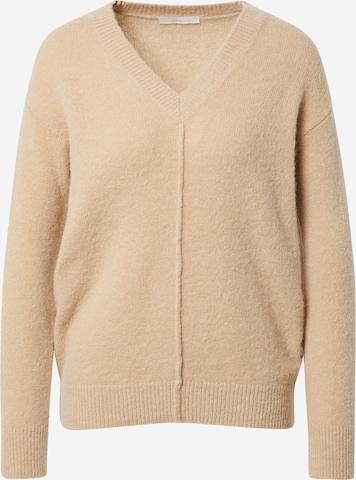 BOSS Casual Sweter w kolorze beżowy