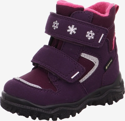 SUPERFIT Snow boots 'HUSKY1' in Aubergine / Red violet / Silver, Item view
