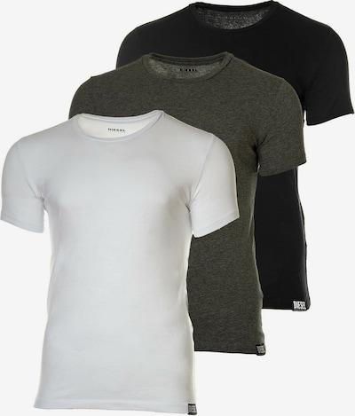 DIESEL T-Shirt in mischfarben: Frontalansicht