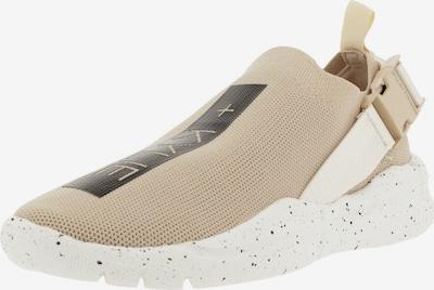 Kendall & Kylie Sneakers laag 'NYA BUCKLE' in de kleur Beige / Zwart, Productweergave