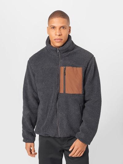 Cotton On Prechodná bunda - námornícka modrá / okrová: Pohľad spredu