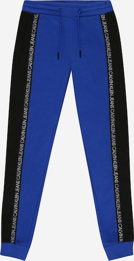 Calvin Klein Jeans Kalhoty - modrá / černá / bílá, Produkt