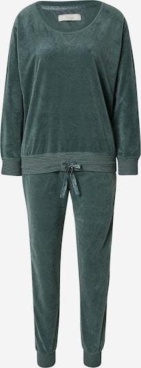 TRIUMPH Pyjama en vert foncé, Vue avec produit