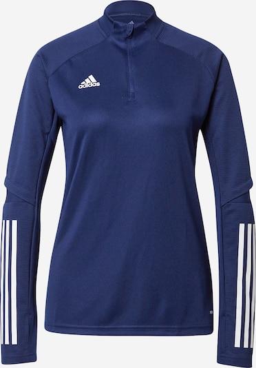 Sportiniai marškinėliai 'Condivo 20' iš ADIDAS PERFORMANCE, spalva – tamsiai mėlyna / balta, Prekių apžvalga