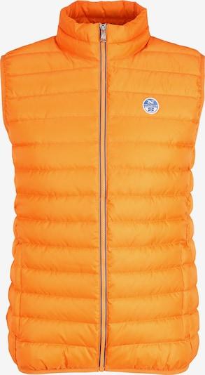 North Sails Steppweste Crozet Vest in orange, Produktansicht