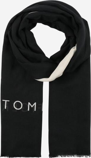 TOMMY HILFIGER Schal 'SPRING' in nachtblau / weiß, Produktansicht