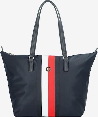 TOMMY HILFIGER Shopper 'Poppy' in nachtblau / rot / weiß, Produktansicht