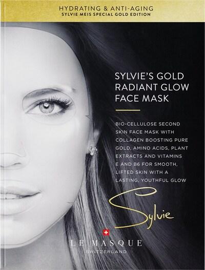 Le Masque Switzerland Maske 'Sylvie's Gold Radiant' in weiß, Produktansicht