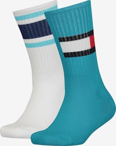 TOMMY HILFIGER Sokken in de kleur Blauw / Wit, Productweergave