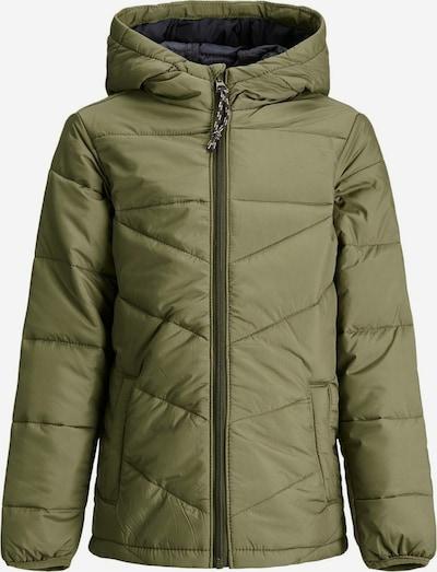 Produkt Winterjas in de kleur Olijfgroen, Productweergave