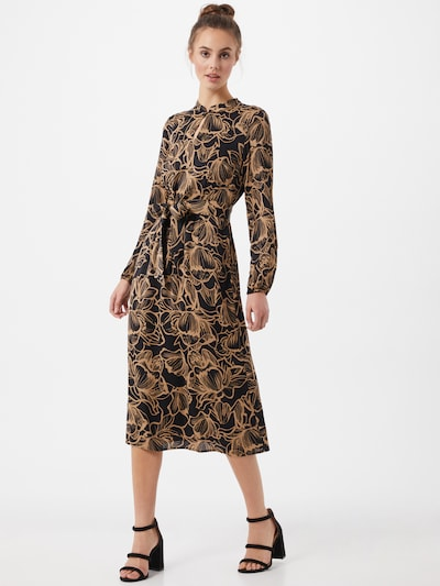 MORE & MORE Kleid in karamell / schwarz, Modelansicht