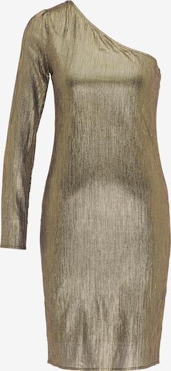 Rochie de cocktail faina pe auriu / negru, Vizualizare produs