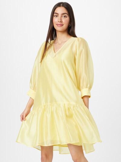 JUST FEMALE Kleid 'Ventura' in gelb, Modelansicht