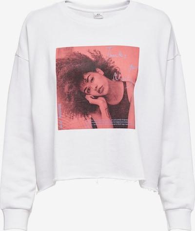 JDY Sweatshirt in hellrot / schwarz / weiß, Produktansicht